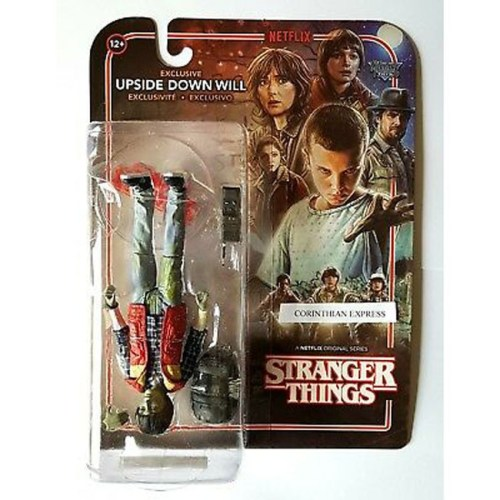 Action Figure Upside Down Will Stranger Things Mc Ferlane Toys
