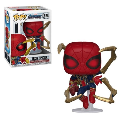 Funko Pop Iron Spider Avengers Endgame Marvel 574