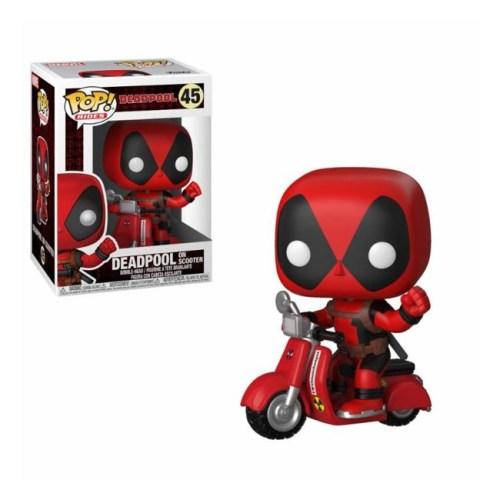 Funko Pop Deadpool on Scooter Deadpool 48