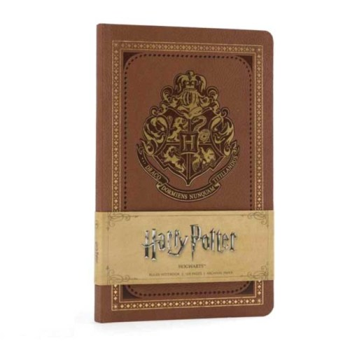 Notebook A5 Vintage fogli a righe Hogwarts Harry Potter