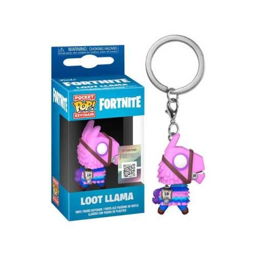 Funko Pocket Keychain Loot Lama Fortnite