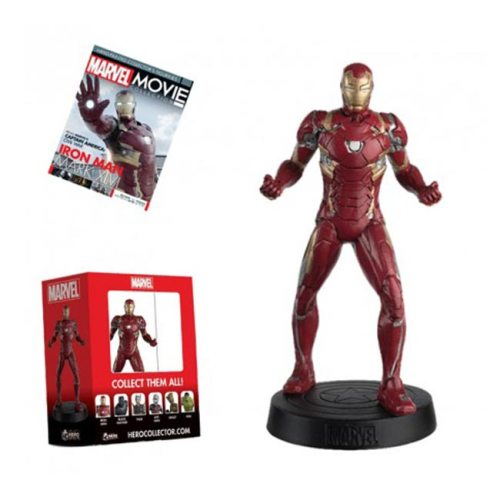 Action Figure Iron Man Eaglemoss giornale