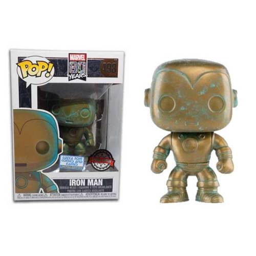 Funko Pop Iron Man Marvel 80 Years 498 Lucca Comics 2019 Limited Edition