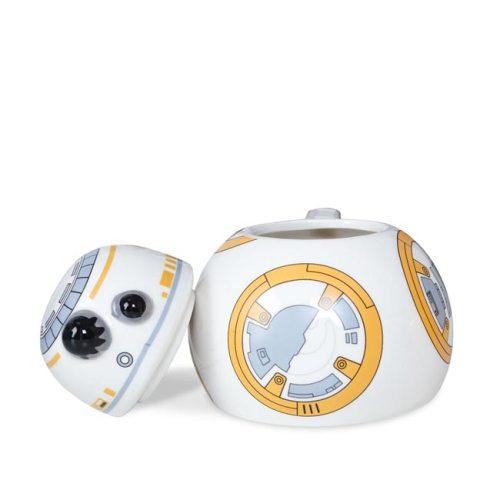Tazza 3D BB8 Star Wars dettaglio aperto