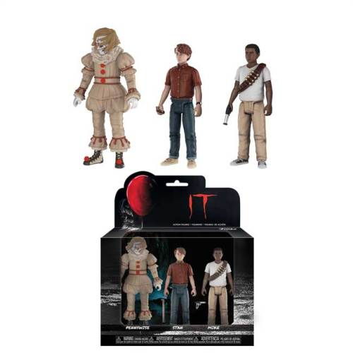 Action Figure Funko Pennywise Stan Mike IT Film