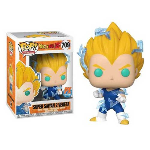 Funko Pop Super Sayan 2 Vegeta Special Edition Glow in the Dark Limited Edition DragonBall 709