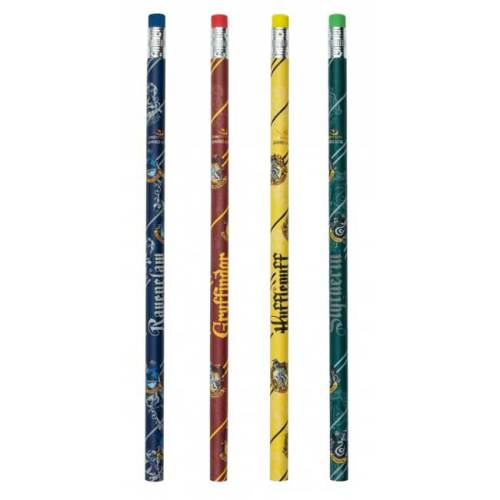 Set scuola Quaderno A5 Temperino quattro matite e righello dettaglio matite