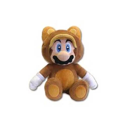 Tanooki Mario Peluche Super Mario 21cm