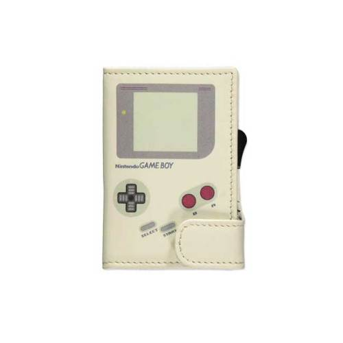 Portatessere in pelle Gameboy