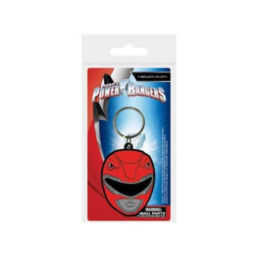 Portachiavi in gomma Power Ranger rosso