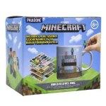 Tazza con adesivi Minecraft
