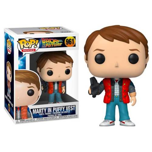 Funko Pop Marty in Puffy Vest Back to the Future 961