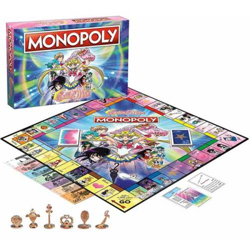 Monopoly Sailor Moon Italiano