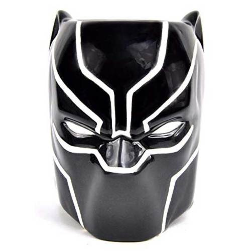 Tazza 3D Black Panther Marvel