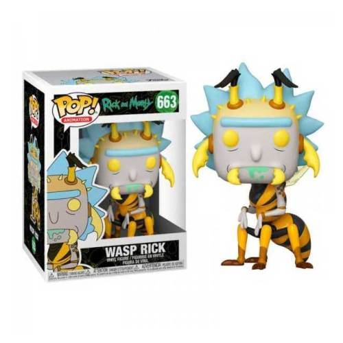Funko Pop Wasp Rick 663 Rick and Morty