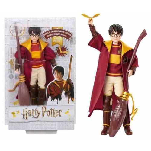 Harry Potter Quidditch Mattel con Nibus 2000 e boccino