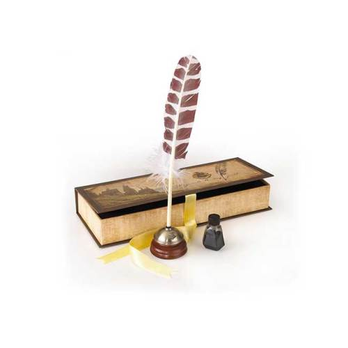 Penna con inchiostro Noble Collection Harry Potter Replica Hogwarts Writing Quill