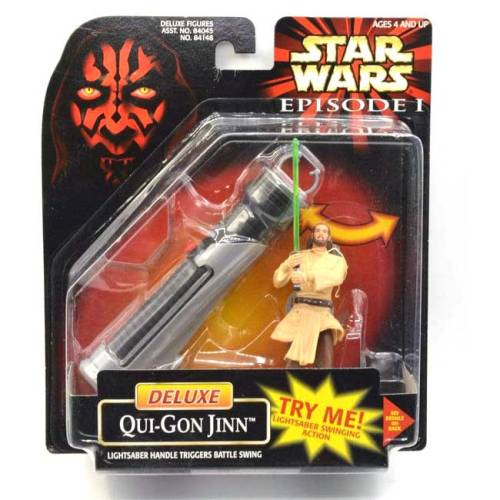 Star Wars Qui-Gon Jinn Deluxe vintage
