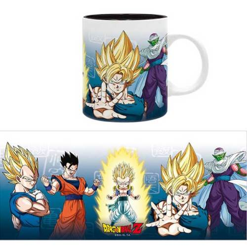 Tazza Saiyan e Piccolo Dragon Ball 320ml
