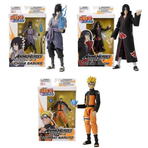 Action Figures Naruto Shippuden Anime Heroes