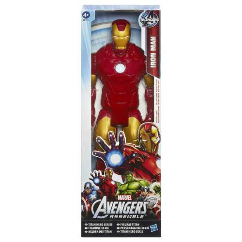 Avengers Assemble Titan Hero Action Figure Iron Man 30 cm