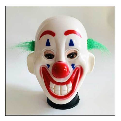 Maschera pagliaccio Joker