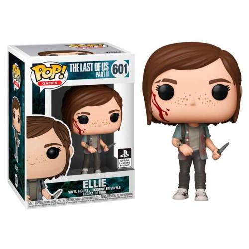 Funko Pop Ellie The Lust of Us Part II 601