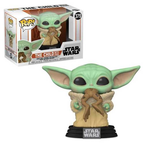 Funko Pop The Child with Frog Star Wars 379