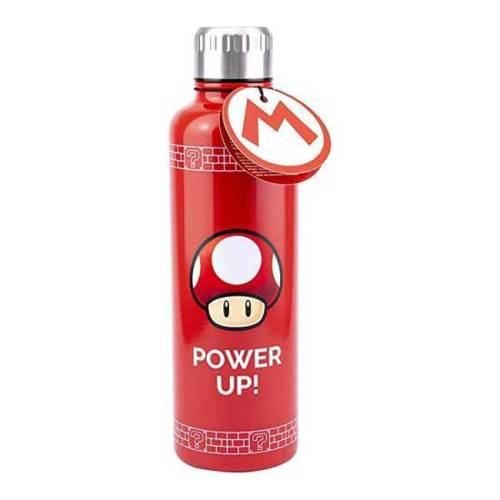 Bottiglia mettallica termica Super Mario 500ml