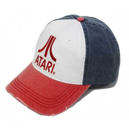Cappello Atari Baseball logo red
