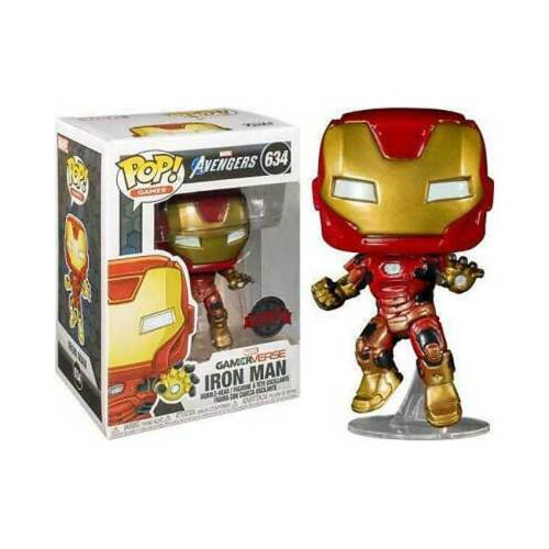 Funko POP Iron Man 634 GamerVerse Marvel Special Edition