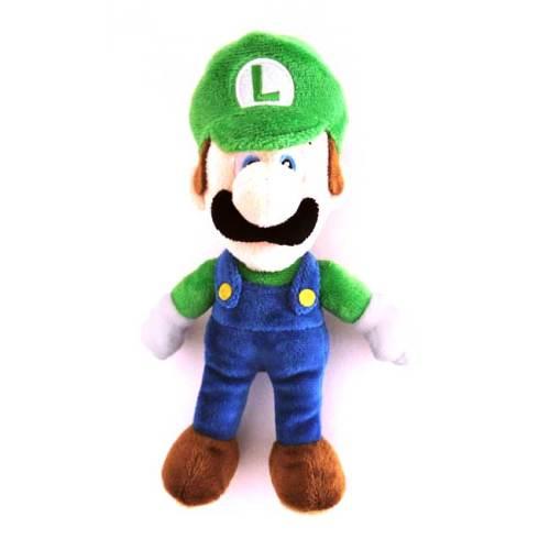Peluche Luigi 25cm Super Mario