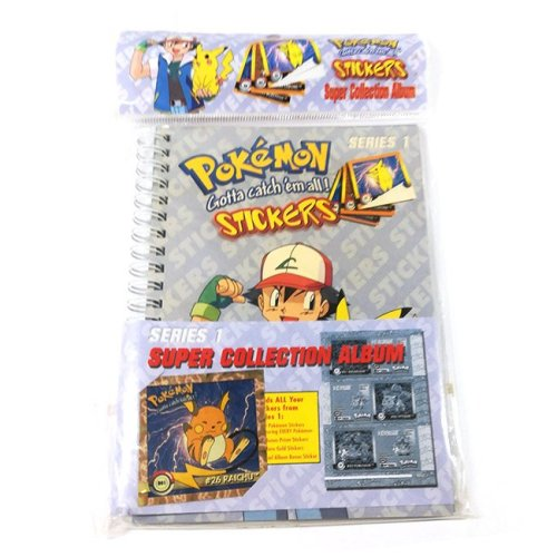 Album Stickers Pokemon Vintage