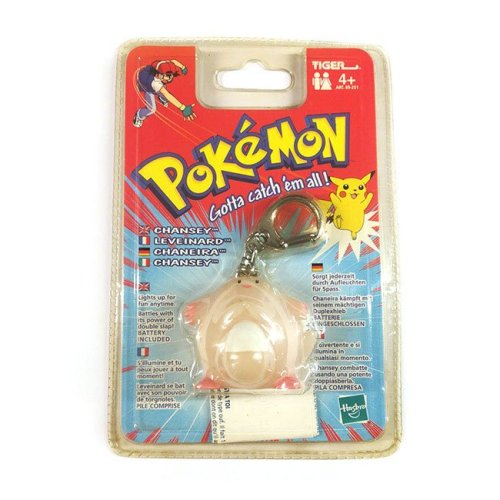 Portachiavi Chansey luminoso Pokemon