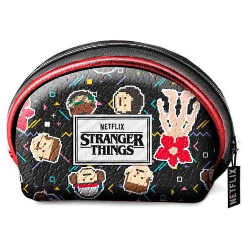 Portamonete personaggi Chibi Pixel Stranger Things