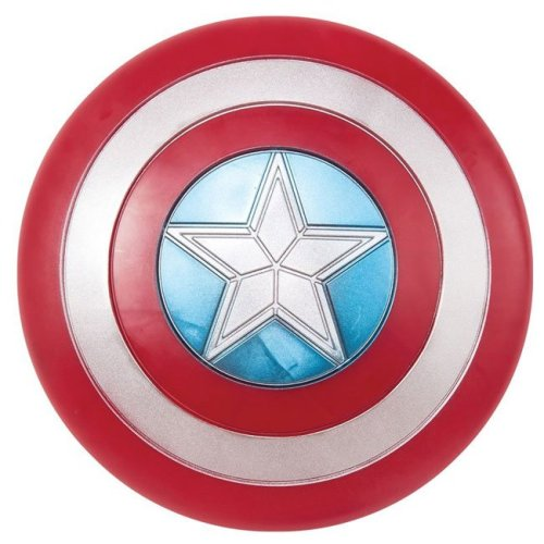 Scudo Captain America replica in plastica adulto diametro 60 cm