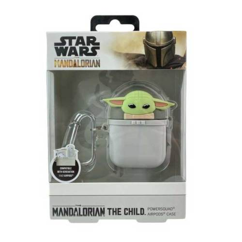 Star Wars the Mandalorian Power squad Air Pods Case The Child