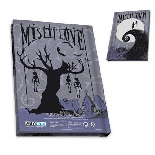 The nightmare before Christmas Tim Burton Gift Set Bicchiere Spilla Notebook