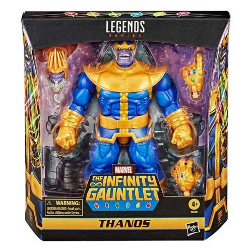 Action Figure Marvel Legend Deluxe - the Infinity Gauntlet - Thanos
