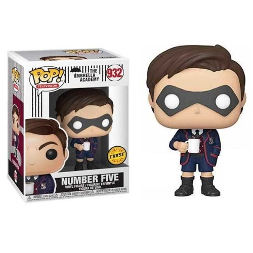 Funko Pop Number Five the Umbrella Academy 932 Chase