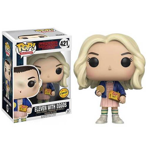 funko eleven with eggos stranger things 421 Chase