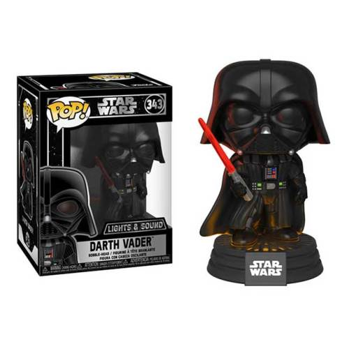 Funko Pop Darth Vader con luci e suoni Star Wars 343