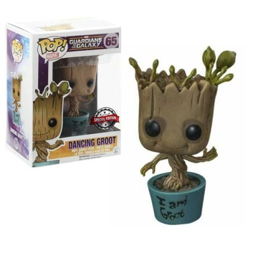 Funko Pop Dancing Groot 65 Special Edition