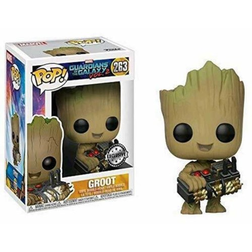 Funko Pop Groot Guardiani della Galassia Vol 2 263 Special Edition