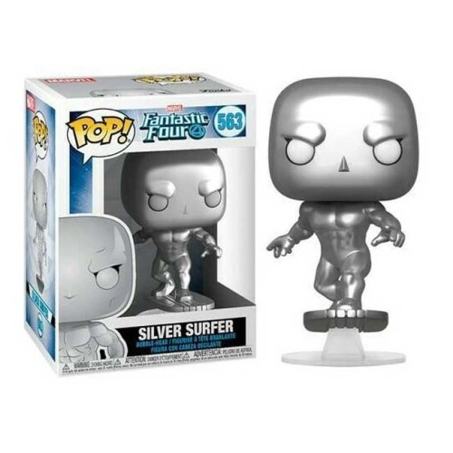 Funko Pop Silver Surfer Fantastic Four 563