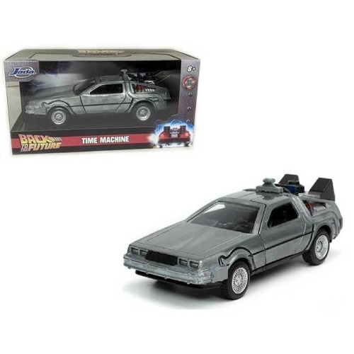 Modellino Time Machine Delorean Back to the Future Holliwood Rides Diecast scala 1 a 32
