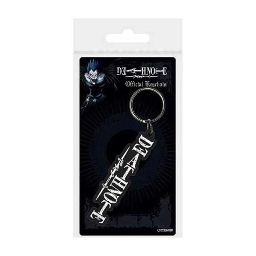 Portachiavi in gomma Death Note logo 6cm