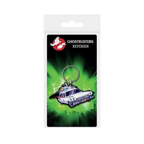 Portachiavi in gomma Ghostbuster Ectomobile 6cm
