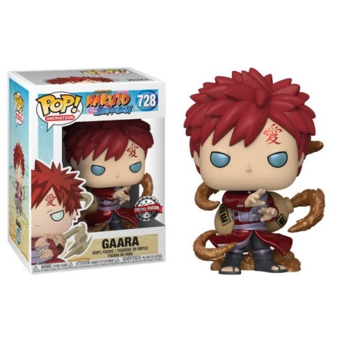 Funko Pop Gaara 728 Naruto metallic special edition