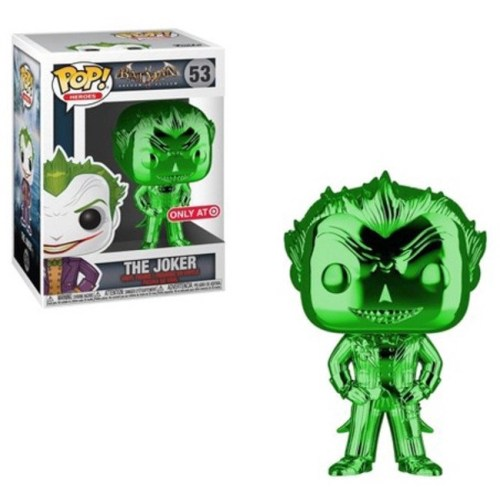 Funko Pop The Joker special edition verde cromato 53